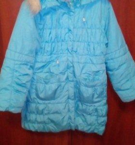 Куртка дев.(6-8лет)