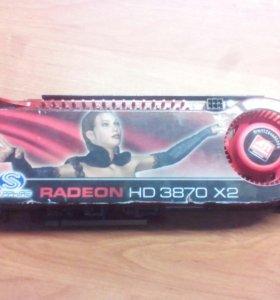 Видеокарта RADEON HD 3870 X2