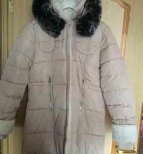 Демисезонная куртка-пуховик
