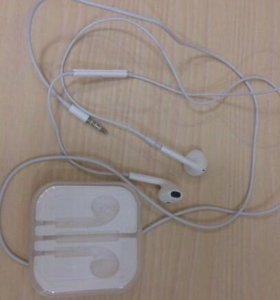 Наушники для iPhone 5s