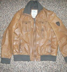 Кожанная куртка tom tailor