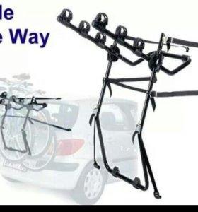 Велокрепление на крышку багажника Thule 968