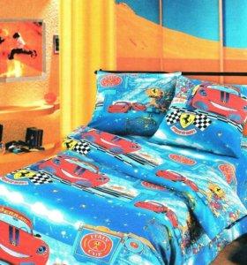Износостойкое белье постельное детское бязь