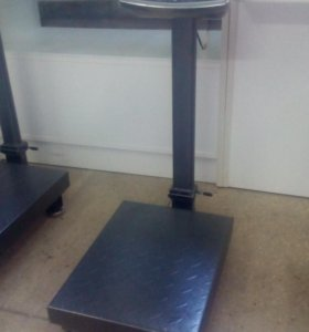 Весы новые до 100кг для кег со складной стойкой