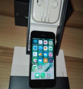 Айфон 5 16Гб чёрный