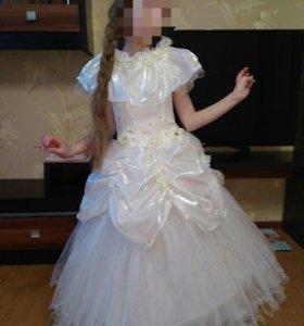 Платье для девочек на выпускной праздничное