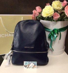 Кожаный рюкзак MK