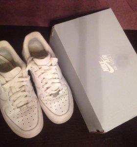 Кроссовки Nike Air Force 1 белые