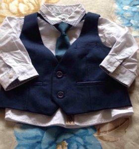 Рубашка, делает и галстук