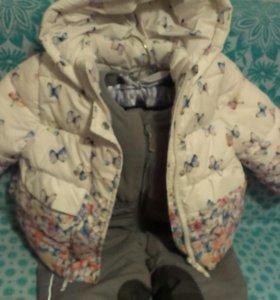 Зимний комбез с курточкой