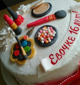 Весь торт