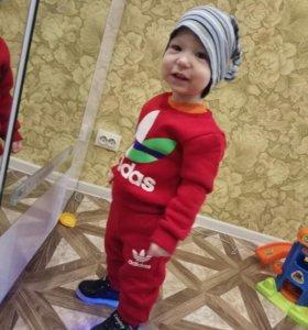 Новые детские костюмы теплые