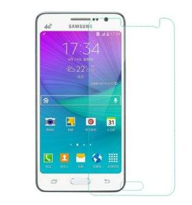 Защитное стекло на Samsung Galaxy j3