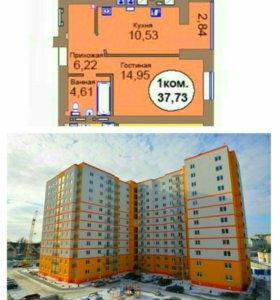 1 комнатная квартира ул. Западная
