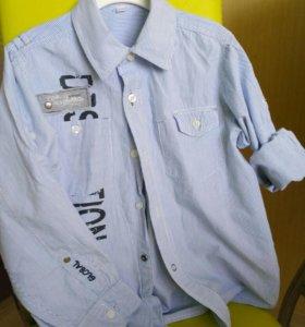 Рубашки размер 128-134