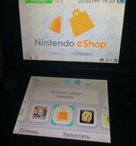 Nintendo 3ds XL + 3 игры