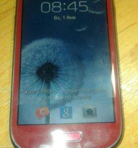 Samsung s3 mini+гарнитура eo-mn910