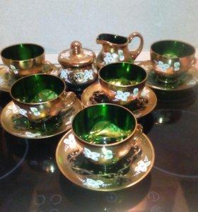 Чайный сервиз богемия чехословакия