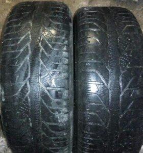 Две шины 215/60 R16 Kleber