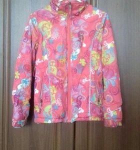 Продам куртку весеннюю для девочки 8-9 лет