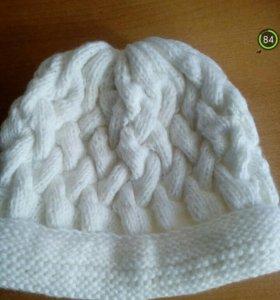 Вязаная шапка, новая