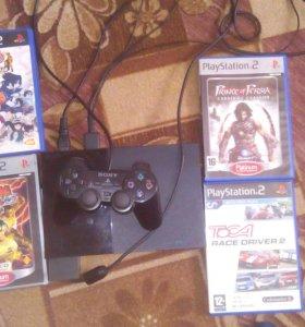 Продам PlayStation 2 срочно!!!!
