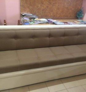 Новый кухонный раскладной диван