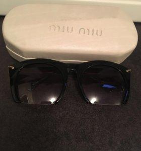 Очки Miu Miu новые 1+1=3🎁