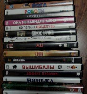 Диски с фильмами, 16 шт.