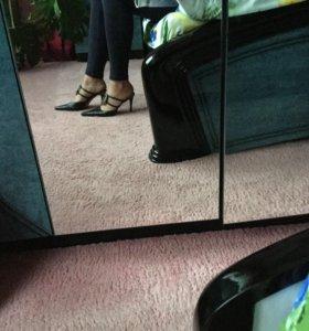 винтажные кожаные туфли florangelo