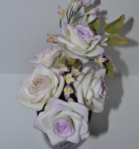 Сахарные розы