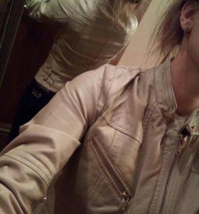 Куртка женская кожа искуственная 42
