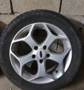 Оригинальные диски Ford с зимней резиной Champiro