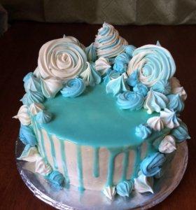 Торт кремовый на заказ