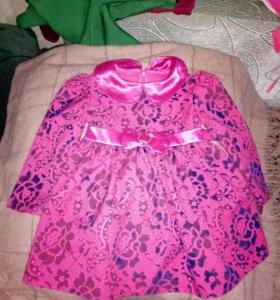 Платье для девочки б/у