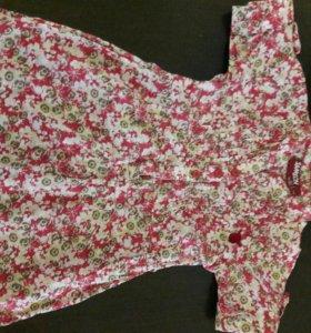 платье -туника.рост 80-86