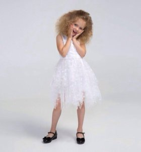 Платье нарядное р. 140-152-164 см.