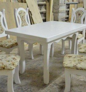 Набор мебели для дома из массива дерева