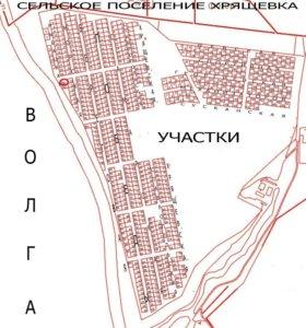 Участок в Хрящевке,7 соток,на берегу Волги.под ИЖС