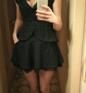 Костюм женский жакет+юбка