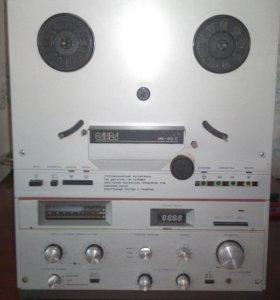 Катушечный магнитофон Санда 012