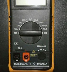 MASTECH M6013A (измеряет ёмкость)