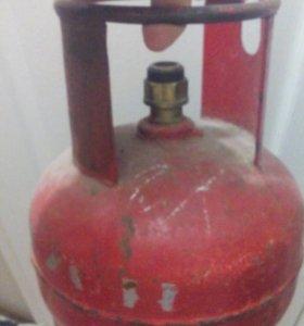 Балон газовый 5 литров б/у