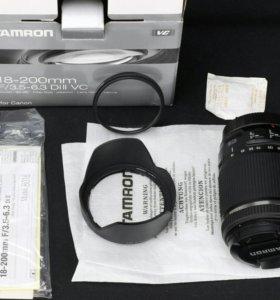 Объектив TAMRON 18-200mm F/3.5-6.3 Di ll VC