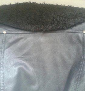 Кожзам куртка
