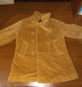Пальто на девочку 1.5-2года