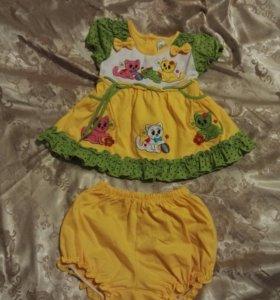 Платье р.74-80