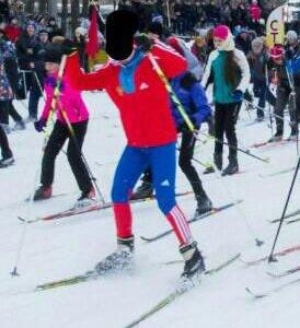Лыжный тренировочный костюм