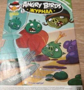 Angry birds журнал
