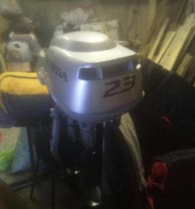 Лодочный мотор HONDA 2.3D